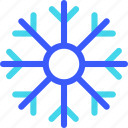 25px, iconspace, snowflakes