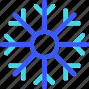 25px, iconspace, snowflakes icon