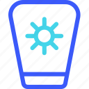 25px, iconspace, sunblock