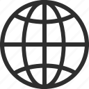 25px, globe, iconspace