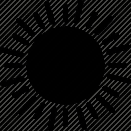 day time, daylight, shining sun, sun, sunlight, sunniness, sunshine icon