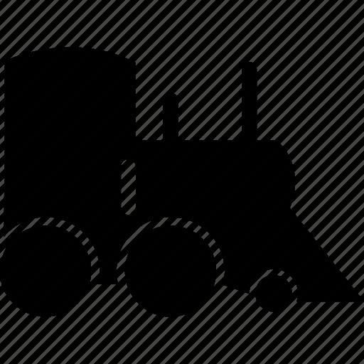 caravan, convoy, cortege, metro, metro train, train, tram icon