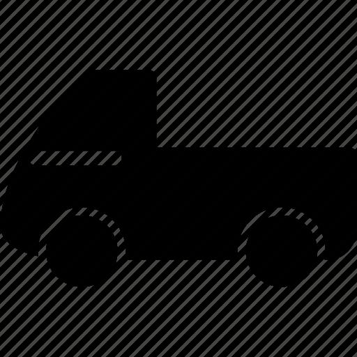 luggage carrier, mini pickup, pickup, pickup truck, pickup van, pickup wagon, van icon