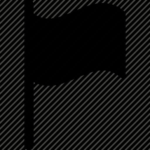 burgee, ensign, flag, gonfalon, pennon icon