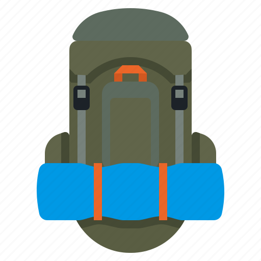 Backpack, bag, rucksack, travel icon - Download on Iconfinder