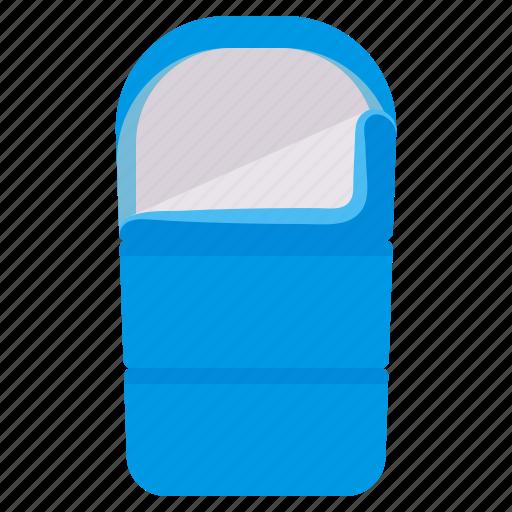 bag, camp, sleeping, travel icon