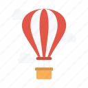 airballoon, fly, summer, tour, travel icon