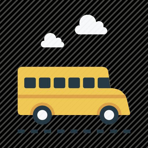 bus, tour, transport, travel, vehicle icon