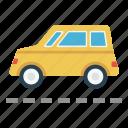 automobile, car, road, tour, travel icon