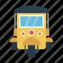 rickshaw, tour, transport, travel, vacation icon