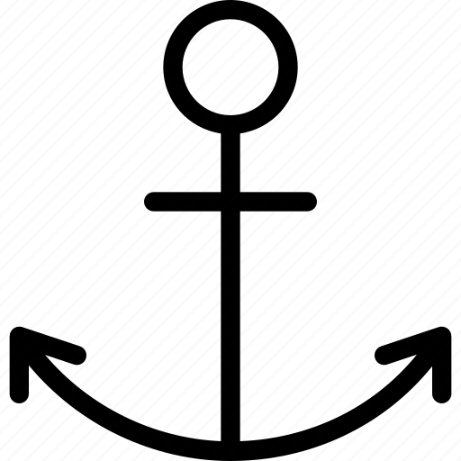anchor, marine, nautical, ship, travel icon