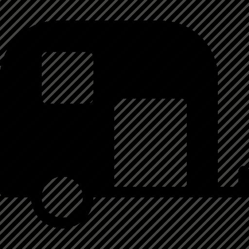 caravan, transport, travel, van, vehicle icon