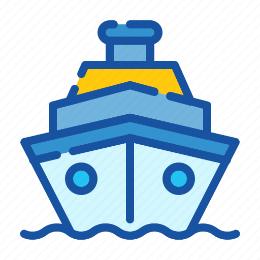 Cruise, holiday, ship, tourism, transportation, travel, vacation icon - Download on Iconfinder
