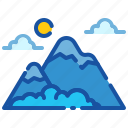 climbing, hiking, holiday, mountain, tourism, travel, vacation icon