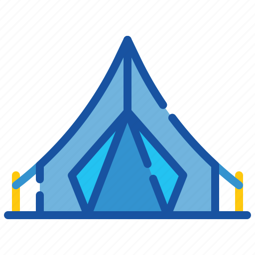 Camp, camping, holiday, tent, tourism, travel, vacation icon - Download on Iconfinder