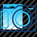 camera, holiday, photo, shot, tourism, travel, vacation icon