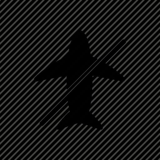 airplane, ban, block, flight, stop icon