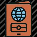 document, id, passport, tourist, travel