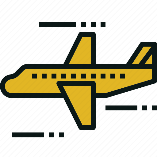 airplane, flight, fly, transportation, travel icon