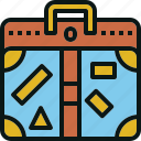bag, baggage, claim, luggage, suitcase, travel icon