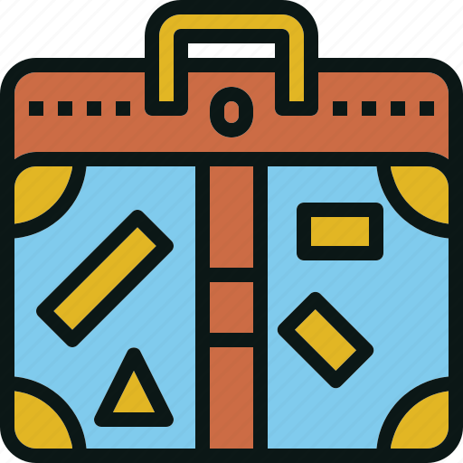 bag, baggage, claim, luggage, suitcase, travel icon