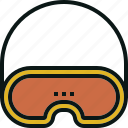 cover, eye, mask, pad, sleep icon
