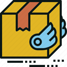 ems, fast, logistic, package, service, shipping icon
