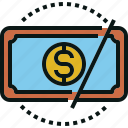 budget, cost, cut, guardar, price, save, value icon