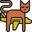 airplane, cat, pet, shipping, transportation, travel icon