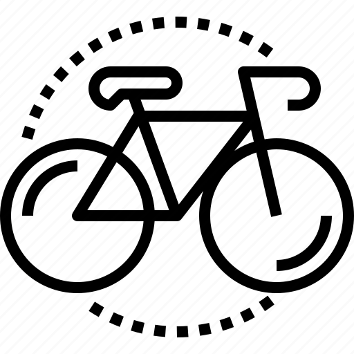 bicycle, bike, exercise, road, sport, transport icon