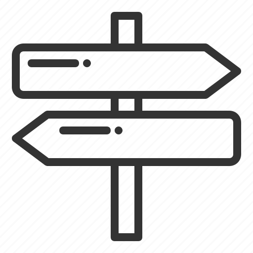 arrow, arrows, board, direction, left, move, navigation, right, signage, travelll icon