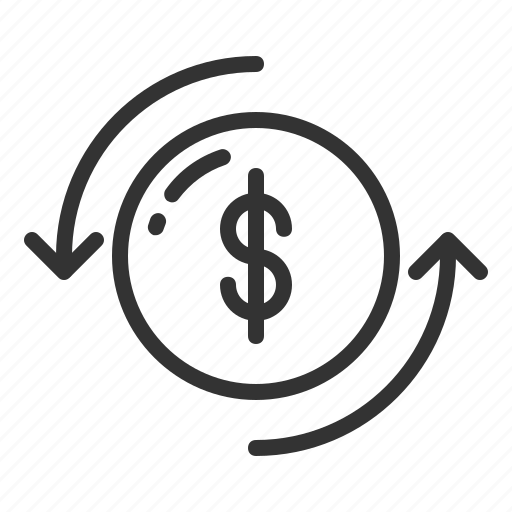 bank, business, cash, changer, currency, dollar, finance, money, payment, travelll icon
