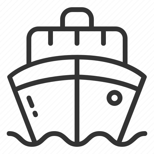 Ship, travelll, boat, cruise, sea, transport, travel icon - Download on Iconfinder