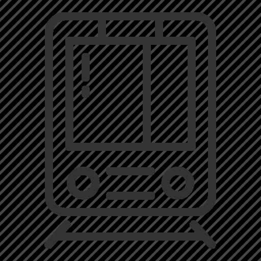 Train, travelll, railway, tram, transport, transportation, travel icon - Download on Iconfinder