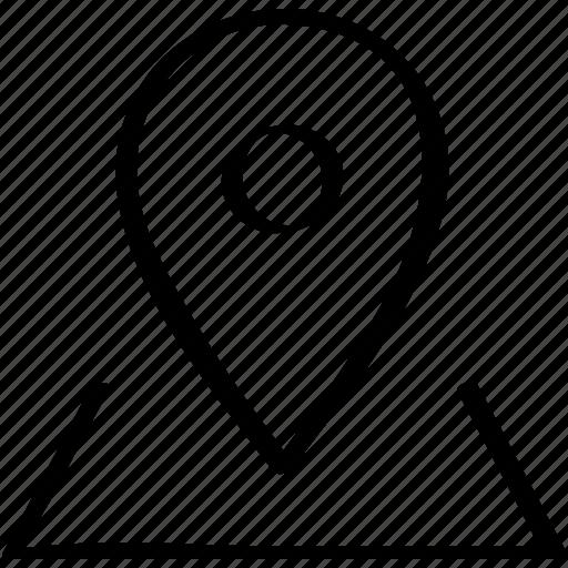 gps, locate, location, map, mapquest icon