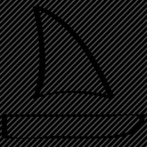 boat, overseas, sail, sailing, sea, travel, vacation icon