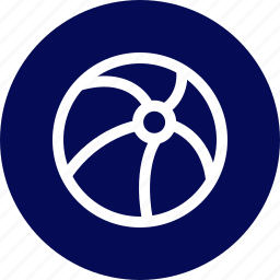 ball, beach, outdoors, travel, vaction icon