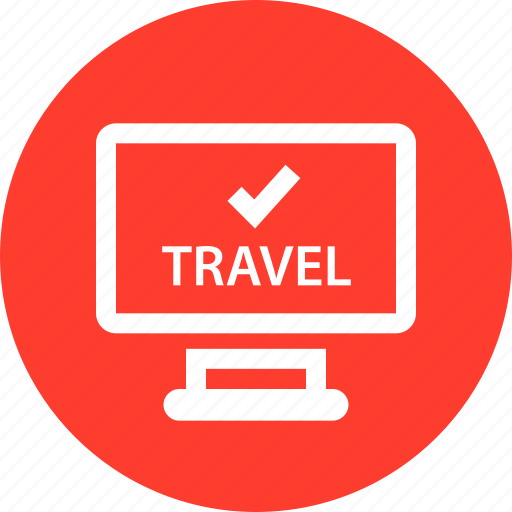 check, in, outdoors, travel, vaction icon