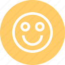 face, happy, outdoors, travel, vaction icon