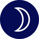 moon, outdoors, travel, vaction icon