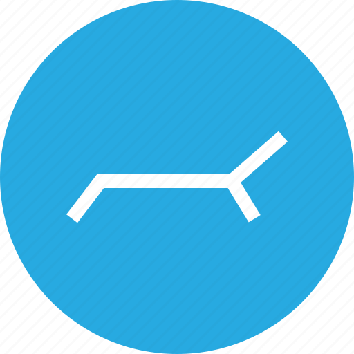 chair, outdoors, pool, travel, vaction icon