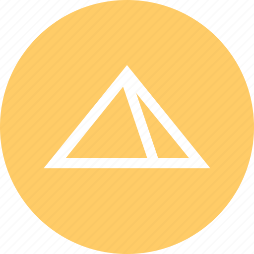 Outdoors, pyramid, travel, vaction icon - Download on Iconfinder
