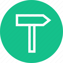 outdoors, road, sign, travel, vaction icon