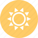 outdoors, sun, travel, vaction icon