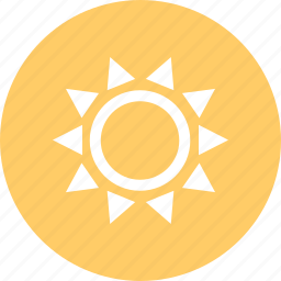 outdoors, sun, travel, vaction icon