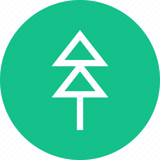 outdoors, pine, travel, tree, vaction icon