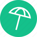 outdoors, travel, umbrella, vaction icon