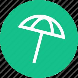 outdoors, travel, umbrella, vaction icon