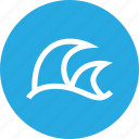 outdoors, travel, vaction, waves icon