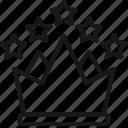 all, crown, inclusive, premium, rating, service, stars icon